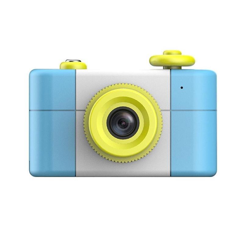 REMAX dessin animé mignon 1.5 pouces écran 2MP 1080 P bleu Mini reflex appareil photo numérique enfants bébé dessin animé photographie enregistreur vidéo cadeaux