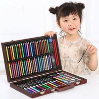 116PCS Kids Magic Water Pen Doodle Drawing Coloring Tools Toy Scratch Painting Drawing Pen Arts And Crafts Toys Set For Children