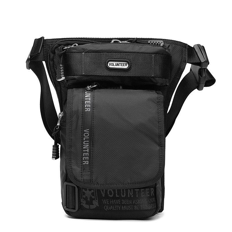 Motorcycle Riding Belt Fanny Pack Male Military Assault Casual Hip Bum High Quality Waterproof Oxford Men Waist Leg Drop Bags