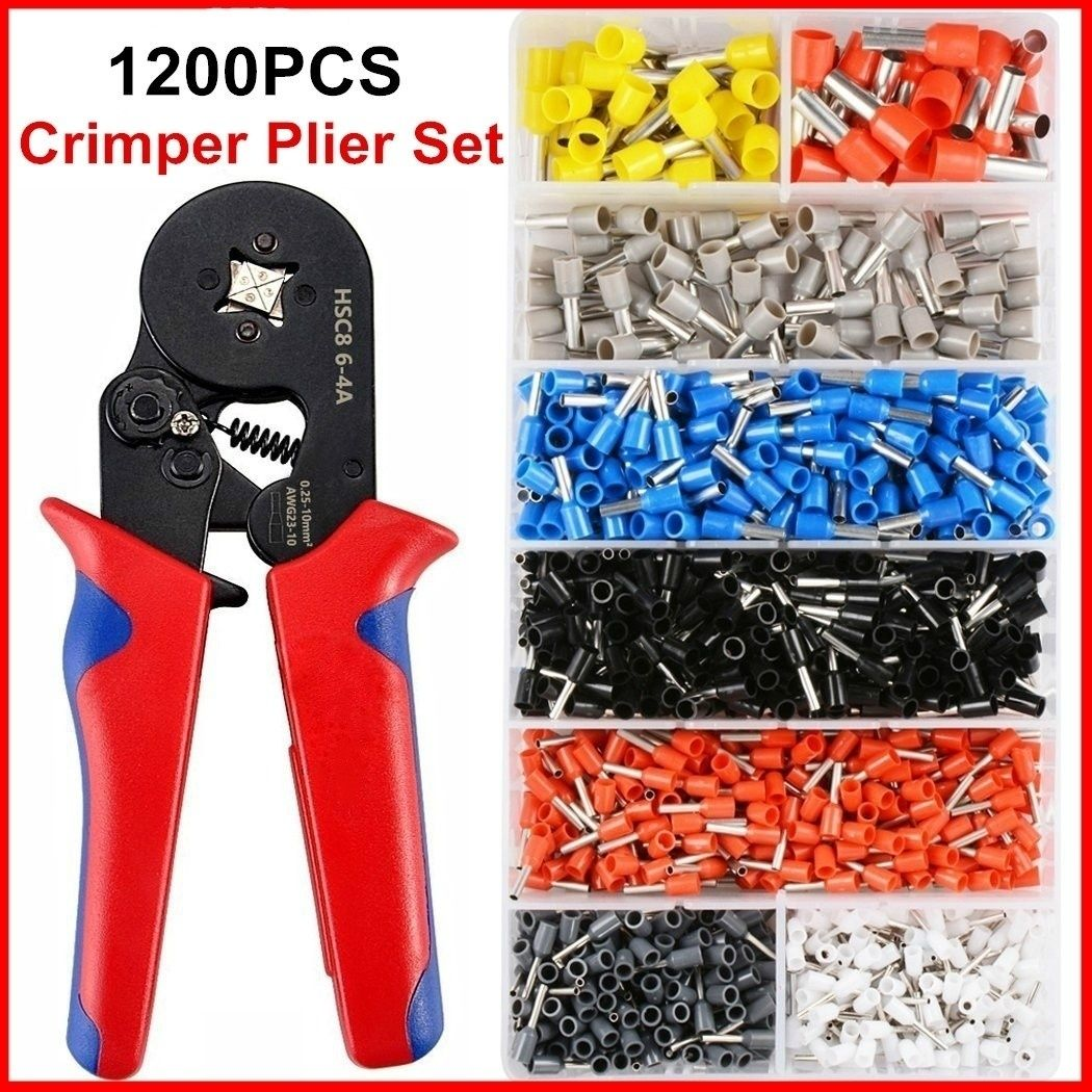 50 X RED 6.3MM FEMALE SPADE FULLY INSULATED CRIMP TERMINALS WIRE CONNECTORS WT10