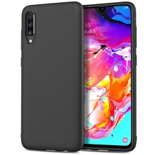 For Samsung Galaxy A70 Case Silicone Anti-slip Carbon Fiber Soft TPU Back Cover For Samsung A70 2019 Case Funda Slim Texture for samsung galaxy a70 case silicone anti slip carbon fiber soft tpu back cover for samsung a70 2019 case funda slim texture