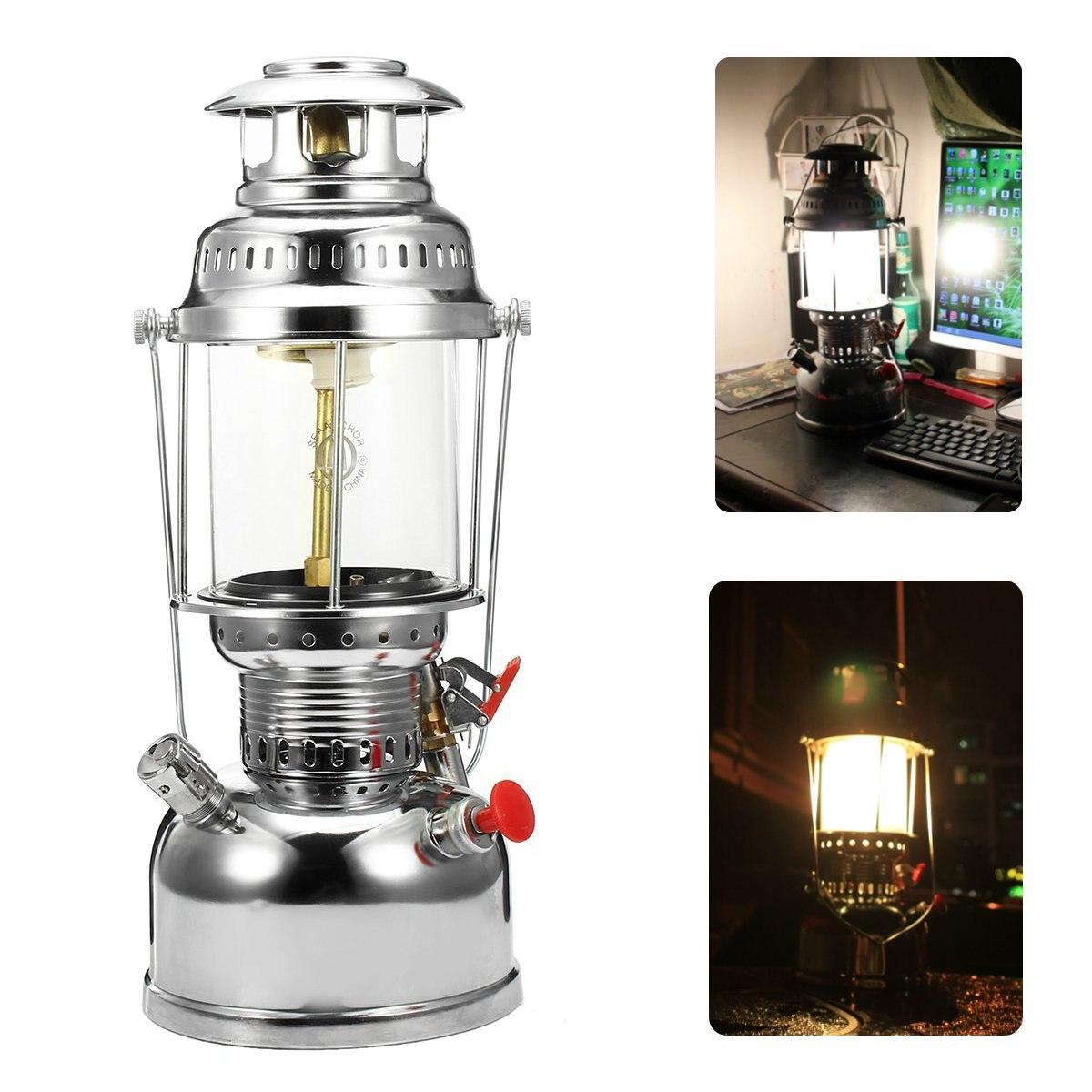 500W Golden Globe Pressure Kerosene Oil Lantern Lamp Lighting Outdoor Camping Fishing Portable Lantern Lighting