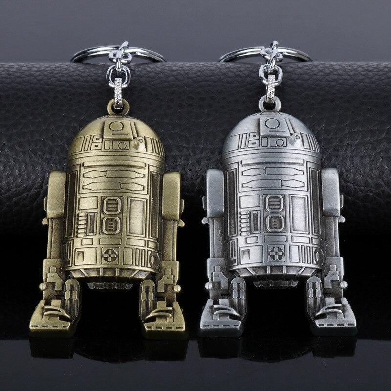 Goedhartig Europese En Amerikaanse Films Rond Star Wars 7 Kracht Ontwaken Robot Sleutelhanger Auto Hanger In Veel Stijlen