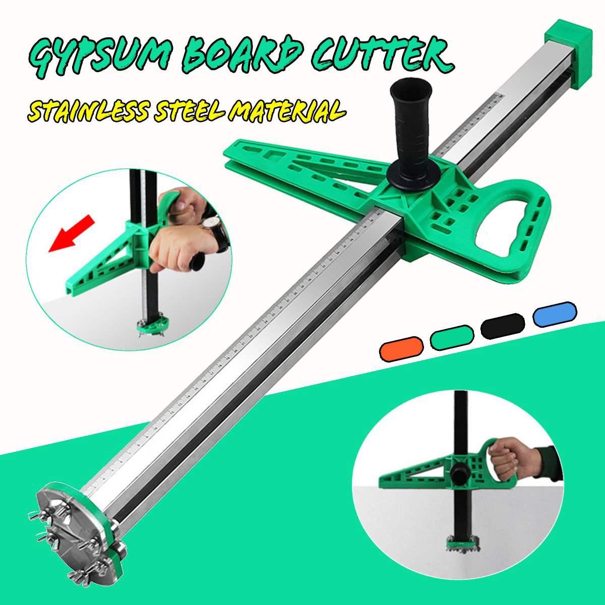 20-600mm Manual Gypsum Board Cutter Hand Push Drywall Artifact Tool Woodworking Cutting Board Tools Orange/Green/Black