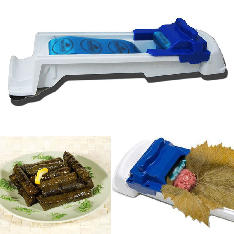 Magic Roller Meat and Vegetable Stuffed Grape Cabbage Leaf Rolling Tool Machine