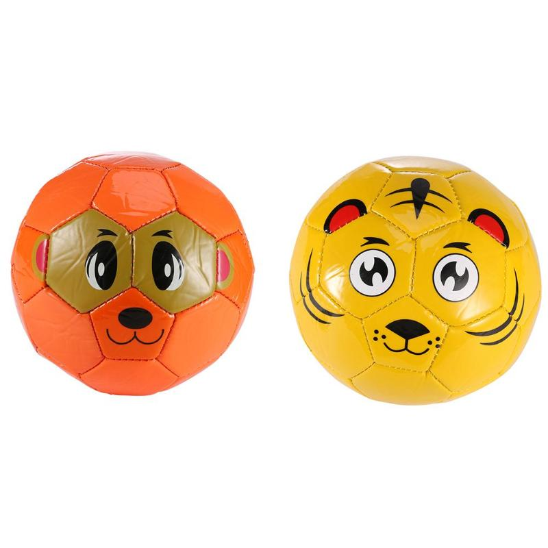 PVC No.2 Cute Durable Daball Toddler Soft Soccer Animal Ball for Child Football Learning