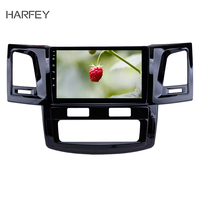 Harfey 9 Radio Android 8.1 GPS Navi Head unit for Toyota Fortuner Hilux 2008 2014 with WIFI FM music Bluetooth DVR SWC 3G OBD2