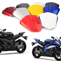 Motorcycle Rear Pillion Passenger Cowl Seat Back Cover Fairing Part For Yamaha YZF R6 2006 2007 06 07