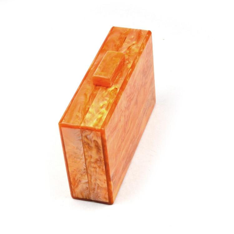 Taschen Frauen Orange Abend Sommer Innen Schulter Kupplung Acryl Verschluss Schwarz Braut Brieftasche Reise Box Stoff Oranger Perle qAx8RO1wa