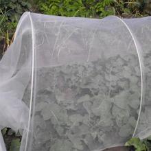 Белая нейлоновая Марля Москит, жук, насекомое сетка для птиц барьер для охоты слепой садовая сетка для защиты вашего растение фрукты цветок