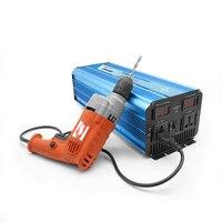 Бесплатная доставка 12 Вольт 220 вольт Солнечная инвертор 3000 Вт чистая синусоида инвертор