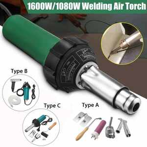 Hot-Tools-Kit Welder Roller Welding-Machine Hot-Air-Guns Heat Plastic 1600W with Nozzle