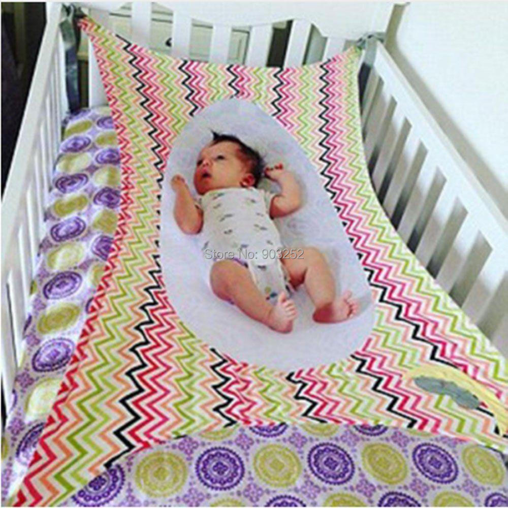 Большой размер, качественная детская безопасная кровать, дышащий и прочный материал, детский гамак, съемная переносная детская кроватка