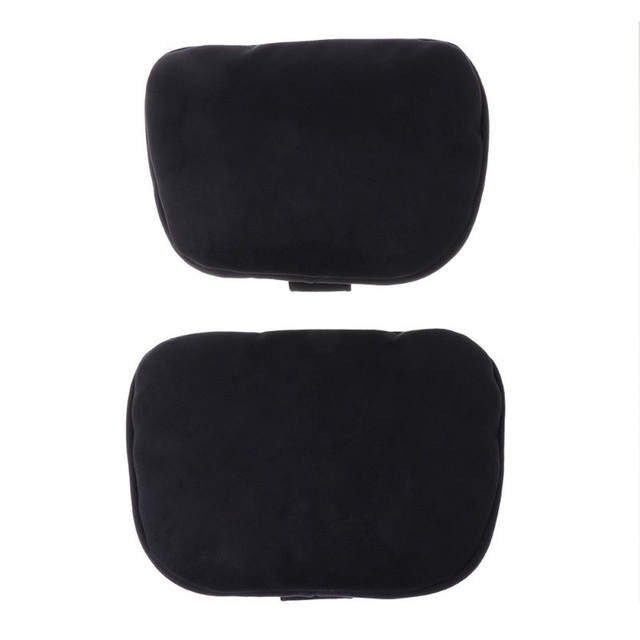 Soft Car Seat Cushion Headrest Neck Supports Pillows For Mercedes Benz Comfy 1