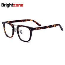675584541df9 Brightzone High Quality Thick Acetate Eight Rivet Full Rim Prescription  Eyeglasses Spectacles Glasses Optical Frame ForMen