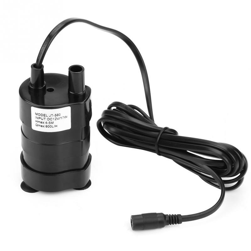 Selbstlos Neue 12 V Mini Hohe Hydraulische Kopf Dc Bürstenlosen Tauch Wasserpumpe-20-90 Grad Pumpen, Teile Und Zubehör