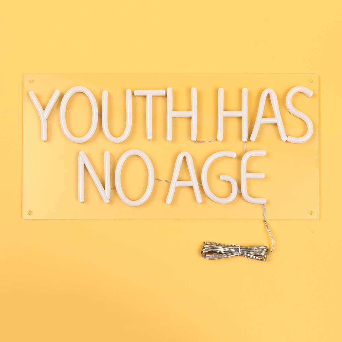 Enseigne au néon lampe tube LED 100-240 V illustration visuelle Bar Pub Club décoration murale panneau lumineux maison bureau décoration jeunesse n'a pas d'âge