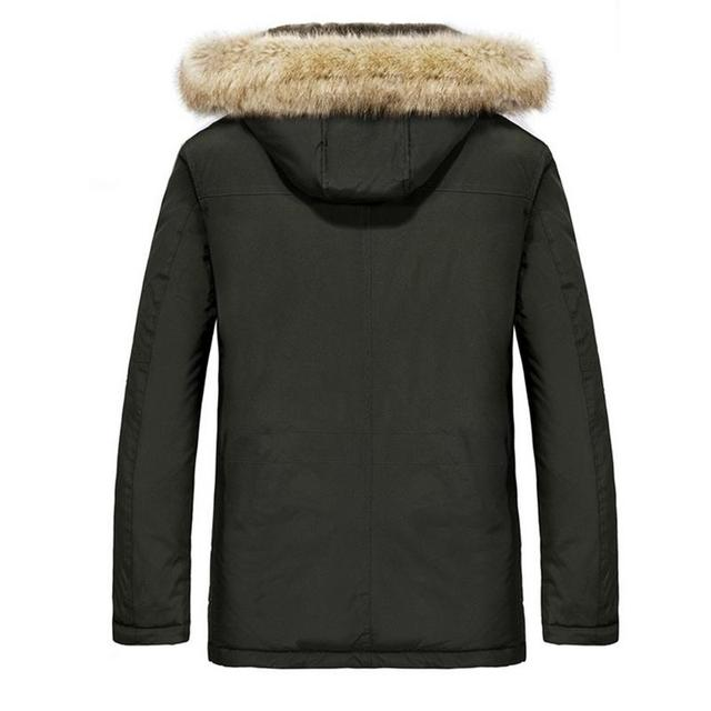 Autumn And Winter Cotton Clothes Father Heated Jacket Casual Heated Coat Fleece Lined Coat Charging Heated Jacket For Men Male 2