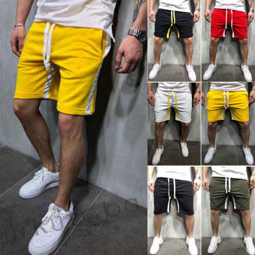 Nieuwe Mode Mannen Sporting Beaching Shorts Broek Bodybuilding Joggingbroek Fitness Korte Jogger Casual Sportscholen Mannen big size Shorts