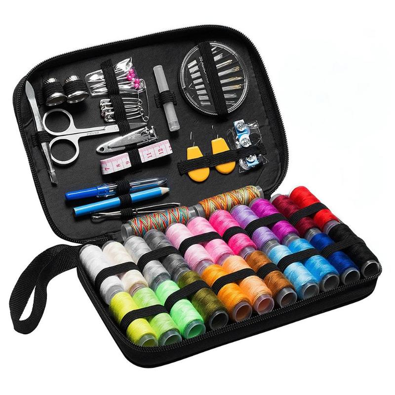 Image 2 - Sewing Kits DIY Multi function Sewing Box Set for Hand Quilting Stitching Embroidery Thread Sewing Accessories 70/90/97/98Pcs-in Sewing Tools & Accessory from Home & Garden
