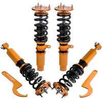 Adj. Height Coilovers Kit For BMW 5 Series E60 Sedan 2004 2010 Shock Absorbers for 523 525 528 530 535 Coil Over Spring Strut