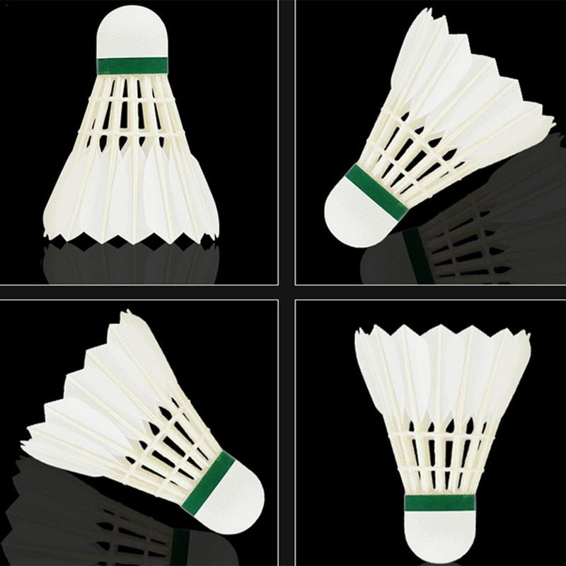 Weitere Ballsportarten Double Fish Goose Feather Durable Badminton-v Be Friendly In Use