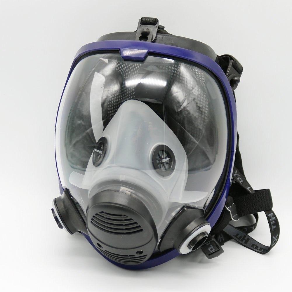 6800 Maschera Chemcial Pittura A Spruzzo di Gas Maschera Industria Pieno Viso Viso pezzo Respiratore per 6001 6002 2091 filtro6800 Maschera Chemcial Pittura A Spruzzo di Gas Maschera Industria Pieno Viso Viso pezzo Respiratore per 6001 6002 2091 filtro
