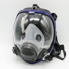 6800 Mask Chemcial Painting Spraying Gas Mask Industry Full Face Facepiece Respirator use for 6001 6002 2091 filter
