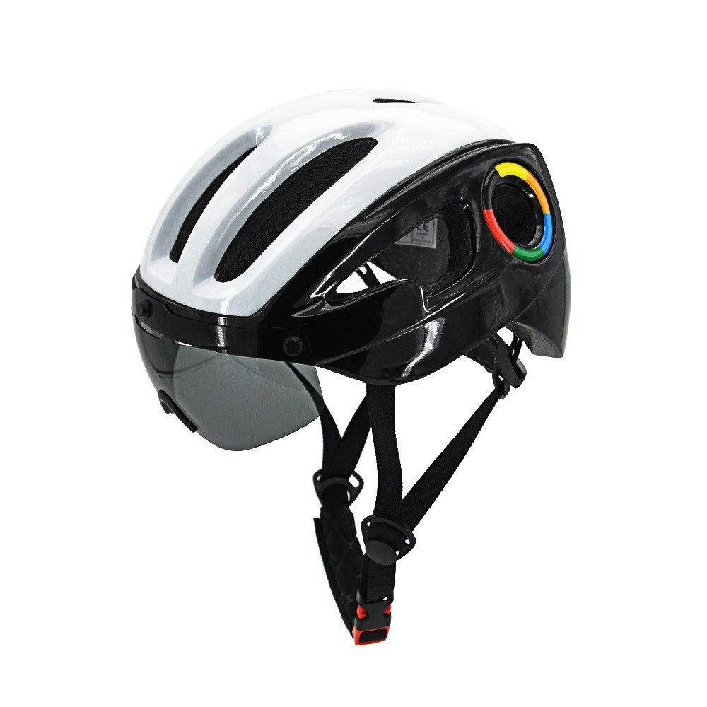 Ultra-light Safety Sports Bike Helmet 57-62cm Road Bicycle Helmet Windproof Goggles Cross-country Bike Safety Riding HelmetsUltra-light Safety Sports Bike Helmet 57-62cm Road Bicycle Helmet Windproof Goggles Cross-country Bike Safety Riding Helmets