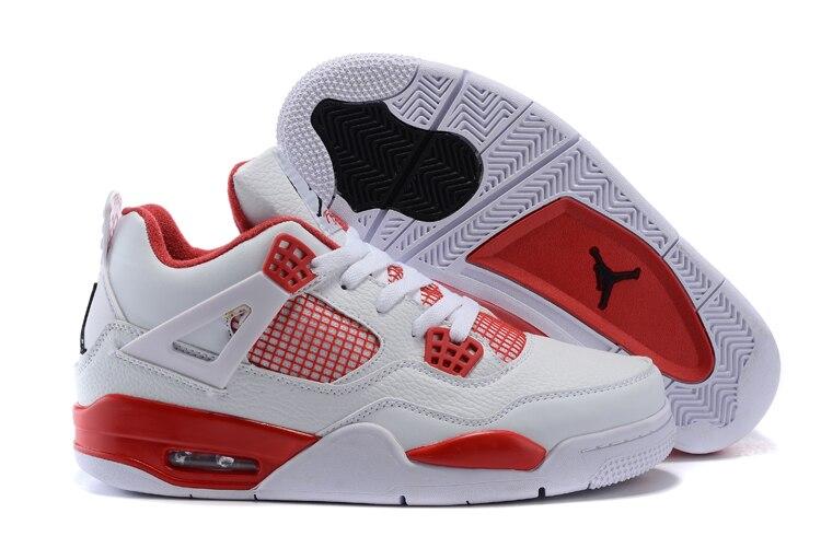 JORDAN Basketball Shoes Low help Sneakers 5 Color Men's Basketball Shoes Jordan 4 Free shipping Eur41-46
