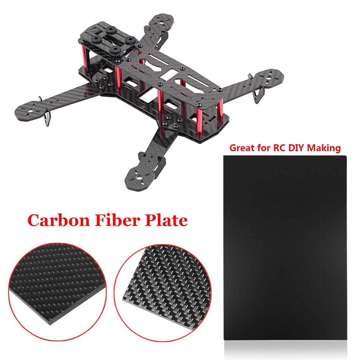 3K Twill 200x300x3mm Carbon Fiber Plate Panel Sheet Board