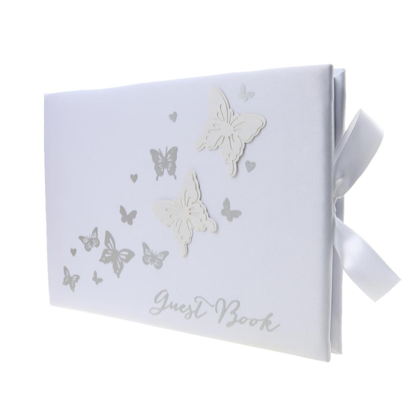 3D Butterfly Bow Wedding Ceremony Guest Book Elegance Debut Events Gatherings3D Butterfly Bow Wedding Ceremony Guest Book Elegance Debut Events Gatherings