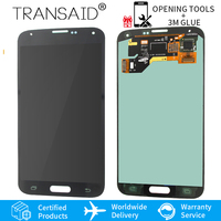 AMOLED TFT LCD DISPLAY touch screen with home button assembly replacement for Samsung Galaxy S5 G900F G900I G900T G900A G900M
