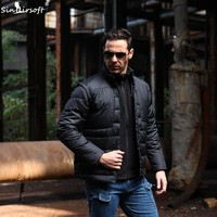 Outdoor Sports Men Jacket Coat Military Tactical Cotton Clothing Jacket Vest Cold Winter Warm Army Clothing