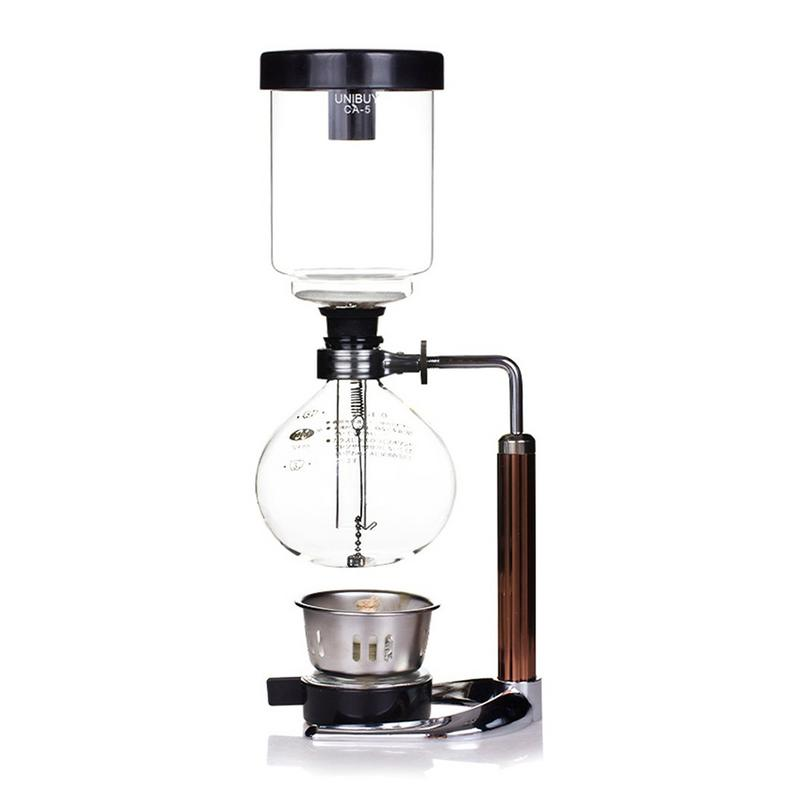 Coffee Pot 3 Cup Syphon Pot Coffee Maker Set Filter Siphon Teapot Siphon Heat Resistant Household Pot High Quality portable