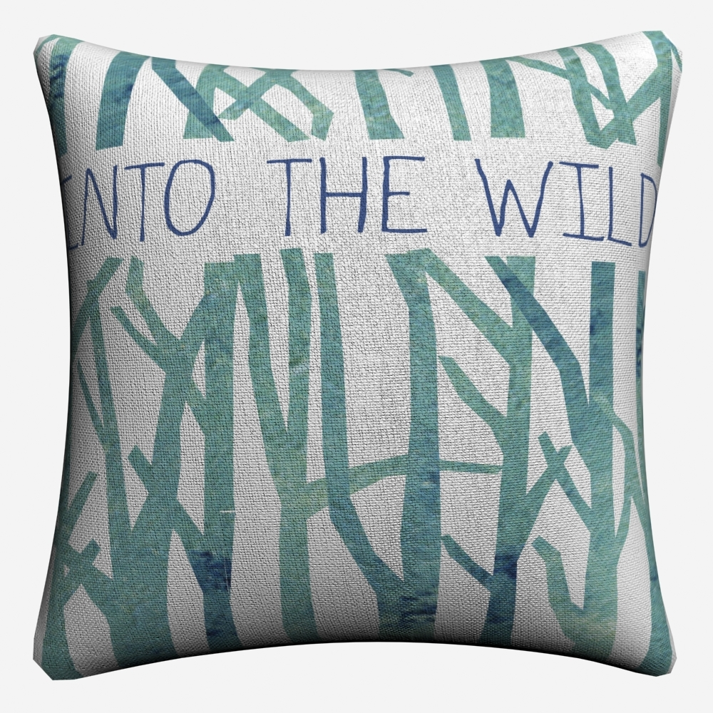 Into The Wild Abstract Paint Decorative Pillow Case For Sofa 45x45cm Linen Cushion Cover Home Decor Throw Pillow Covers Almofada in Cushion Cover from Home Garden