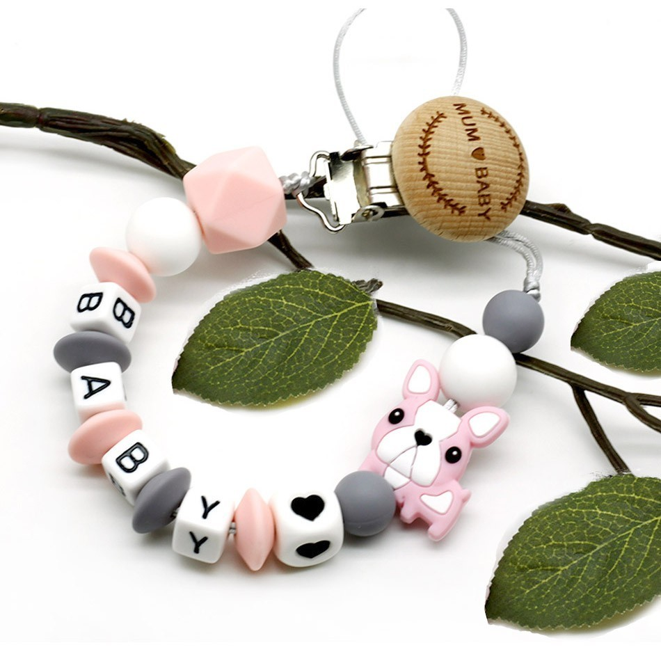 Panda Hand Dummy Toddler Baby Pacifier Clip Chain Holder Soother Nipple Strap N7