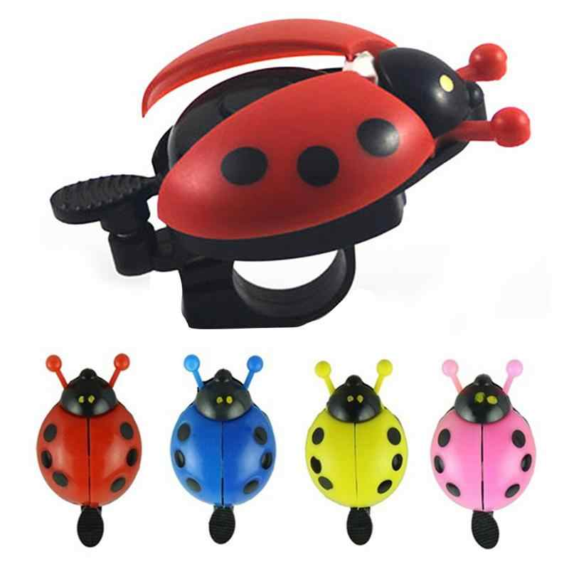 Fietsbel Ladybird Alarm Bike Cycling Steel Plastic Veiligheid Accessoires Outdoor Bell Ring Mooie Kid Mini Cartoon Gift Fiets