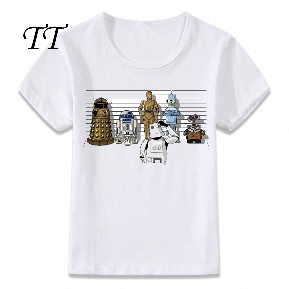Kids Clothes T Shirt Bad Robot R2d2 Star Wars Lineup Children T shirt for Boys and Girls Toddler Shirts Tee|T-Shirts| - AliExpress