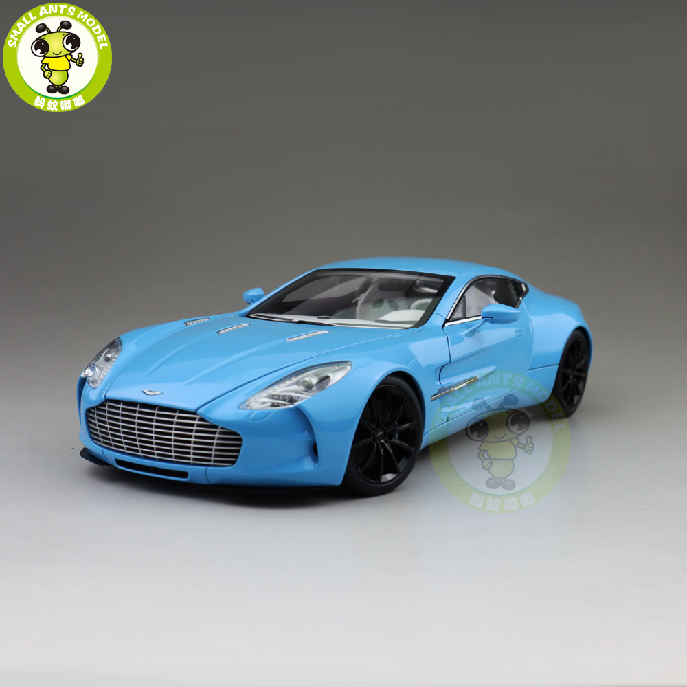 1/18 AUTOart 70240 ONE 77 Diecast Model Car Blue