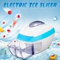 Электрическая автоматическая терка для льда слайсер дробилка станок для бритья Мороженица смузи машина для домашнего магазина