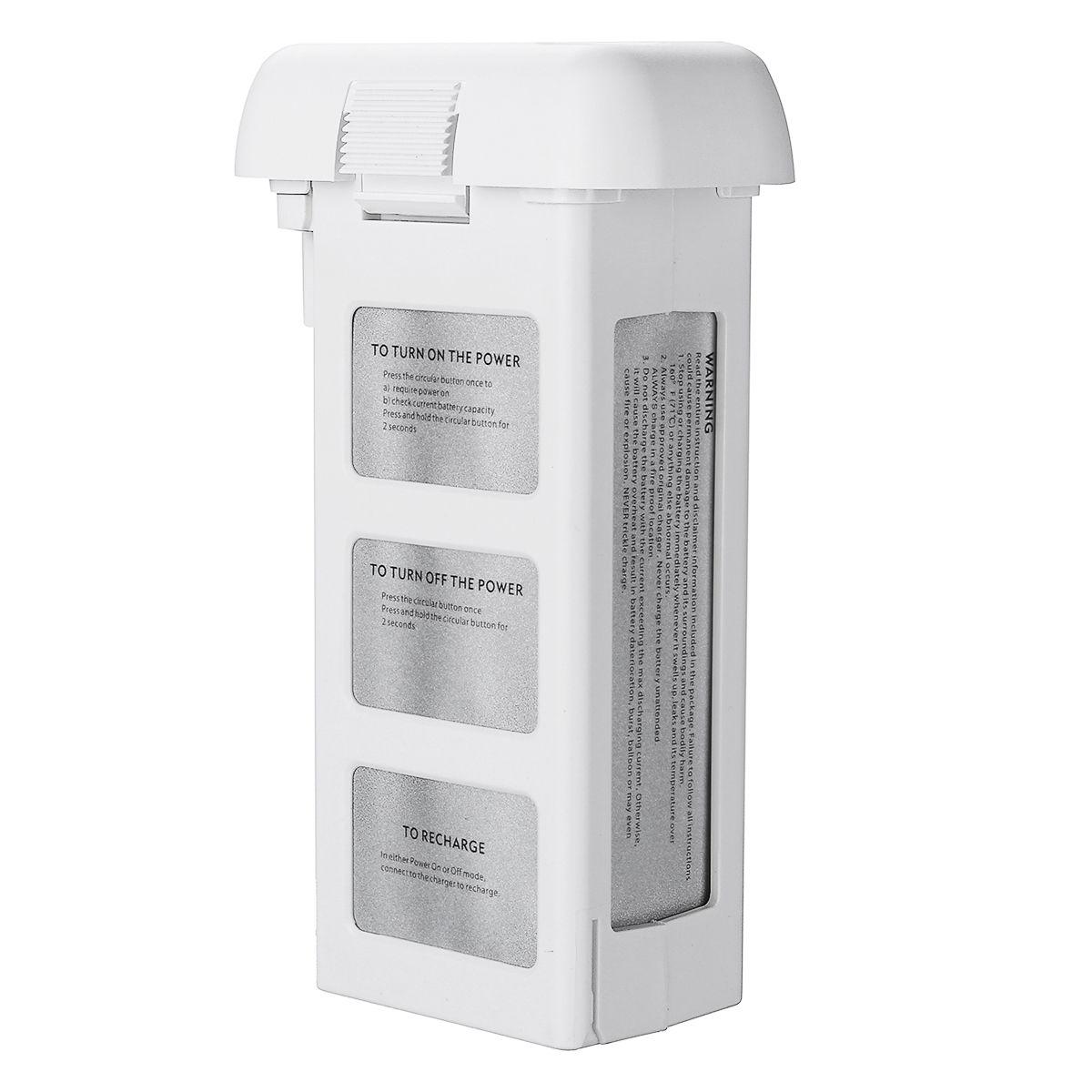 DJI Fantasma 5200mA Genuíno 2 3 Vôo Inteligente Bateria de 15.2 V, zangão Bateria LiPo 4S 856678 P Consumer Electronic 2019 Novo