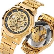 Мужские автоматические часы с автоподзаводом роскошные брендовые