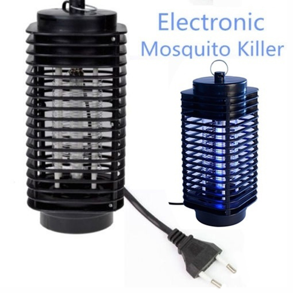 Novel Electric Mosquito Killer Moth Killing Insect LED Bug US/EU 220V Zapper Fly Lamp Trap Wasp Pest Shipping