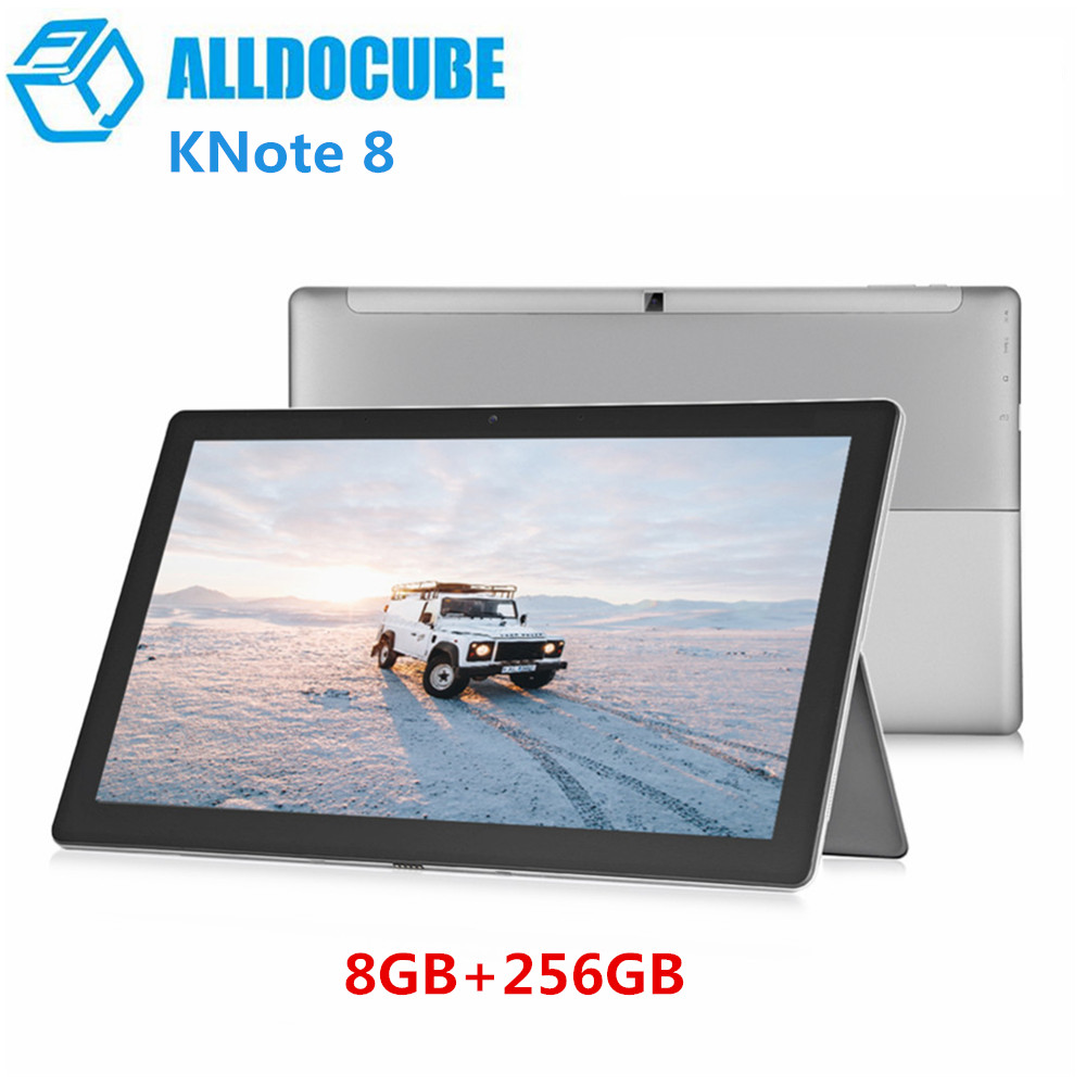 ALLDOCUBE KNote8 2 en 1 tablette PC 13.3 pouces Windows 10 Intel Core M3-7Y30 double coeur 1.0 GHz 8 GB RAM 256 GB SSD 2 K écran tablettes
