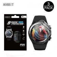 3Pack For LEMFO LEM9 1.39 inch Smart Watch Screen Protector Anti-scratch Anti-bubbles GPS 4G Smartwatch Film for lemfo LEM 9