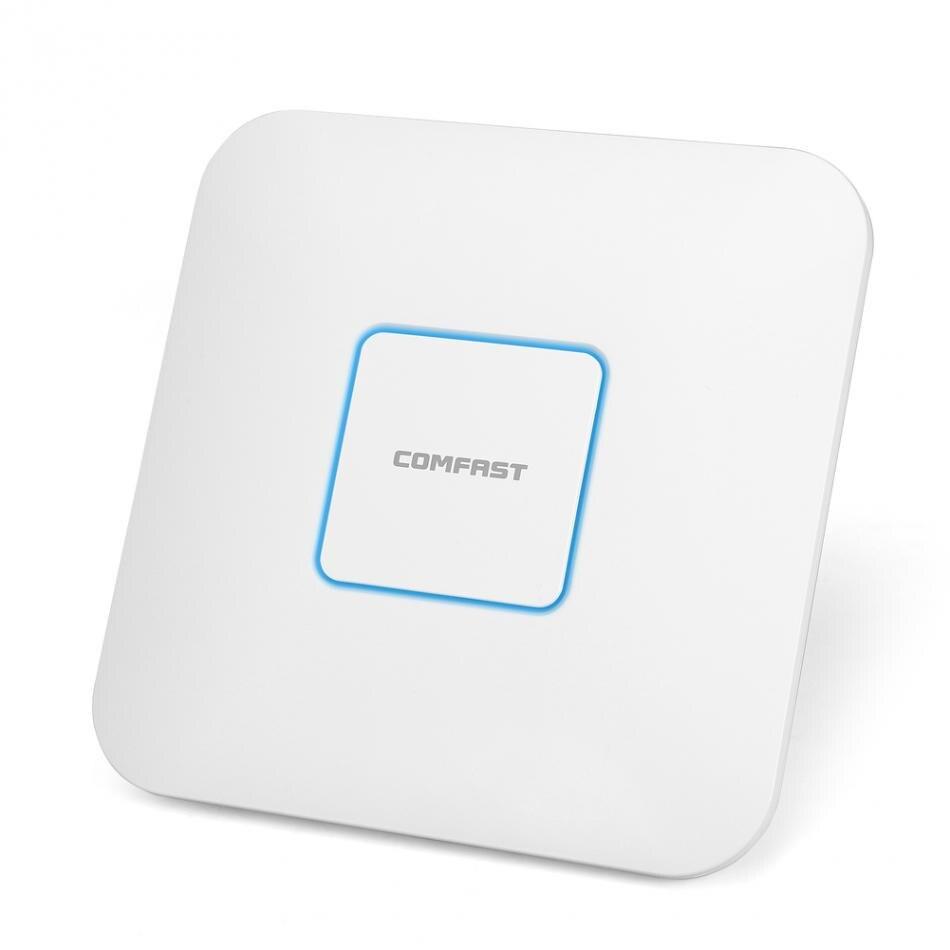 GüNstiger Verkauf Comfast Wireless Ap Cf-e355ac 1200 Mbps Decke Ap 802.11ac 5,8g 2,4g Indoor Ap 48 V Poe Power 16 Flash Wifi Access Point Volumen Groß Kabelgebundene Router Computer & Büro