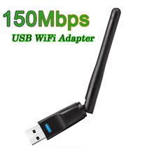 150Mbps 2.4G USB WiFi Adapter Mini Wireless WiFi Dongle Network Card USB Ethernet WiFi Receiver External WLAN Wi-Fi Adapter new wireless wifi adapter 2db wifi antenna 150mbps wlan network card portable usb wifi receiver adapters em88