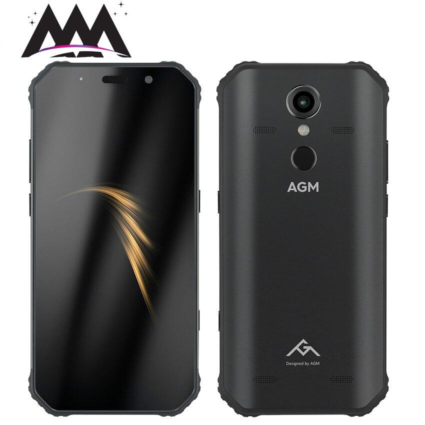 AGM A9 IP68 étanche antichoc téléphone mobile Android 8.1 5.99