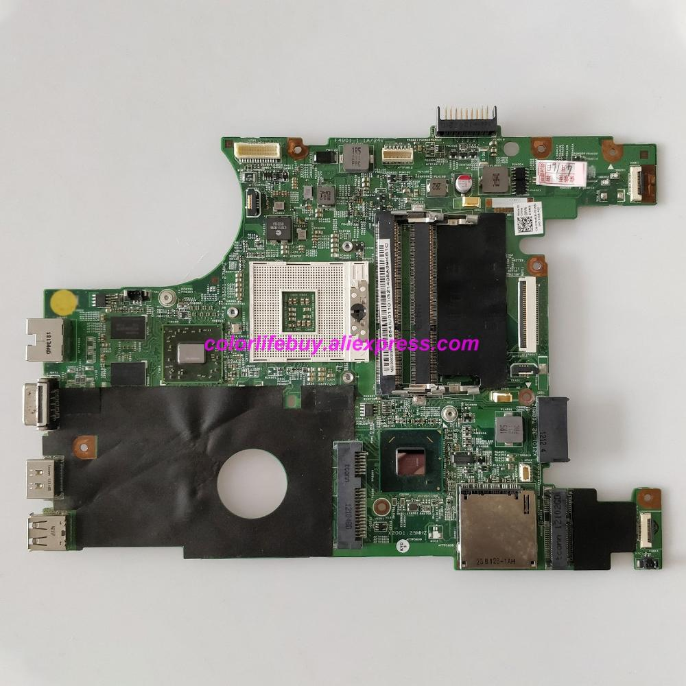 Genuine CN 07NMC8 07NMC8 7NMC8 HM67 HD 6470M DDR3 Laptop Motherboard Mainboard for Dell Inspiron 14R N4050 Notebook PC-in Laptop Motherboard from Computer & Office